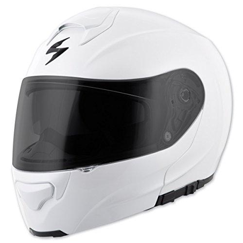 Scorpion EXO EXO-GT3000 Solid Pearl White Modular Helmet L