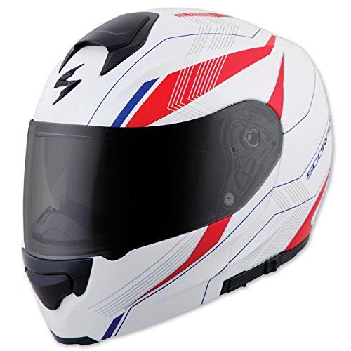 Scorpion EXO EXO-GT3000 Sync White Modular Helmet L