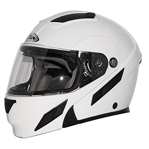 Zox Brigade SVS White Modular Helmet L