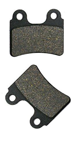 CNBK Front Brake Pad Semi Metallic for BETA Dirt Bike Evo250 Evo 250 2T 4T 09 10 11 12 13 14 15 2009 2010 2011 2012 2013 2014 2015 1 Pair2 Pads