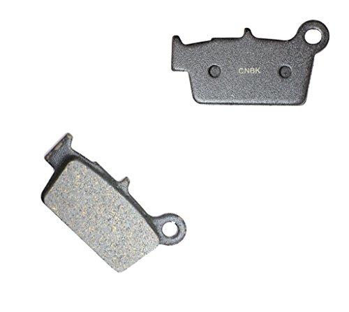 CNBK Rear Brake Pad Semi Metallic fit for BETA Dirt Bike RR50 RR 50 Standard 09 10 11 12 13 14 15 2009 2010 2011 2012 2013 2014 2015 1 Pair2 Pads