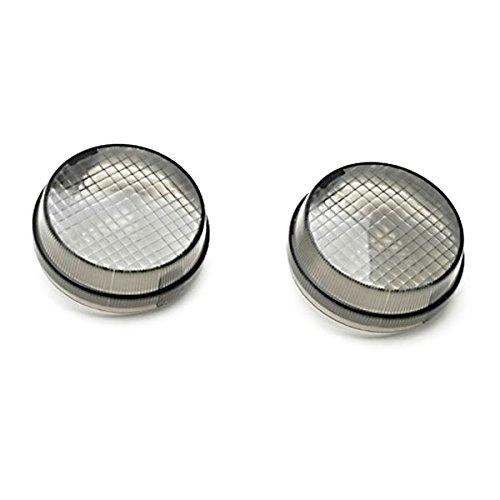 Krator Smoke Turn Signal Lens Lenses Indicator Blinkers For Honda VTX 1800 TYPE C R S N F T RETRO