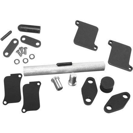 04-09 HONDA VTX1300C Baron Custom Accessories Air Injection Removal Kit