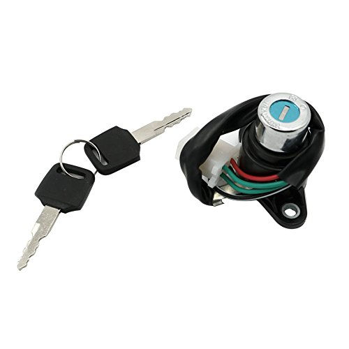 Alpha Rider Motorcycle Ignition Switch Lock and 2 Keys Set For Honda VTX1300C 2004-2009  VTX1300R 2005-2009  VTX1300S 2003-2007  VTX1300T 2008-2009