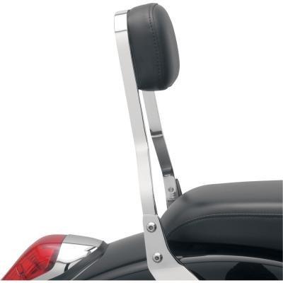 Cobra Square Sissy Bar WShort Pad 14 in for Honda VTX1300C