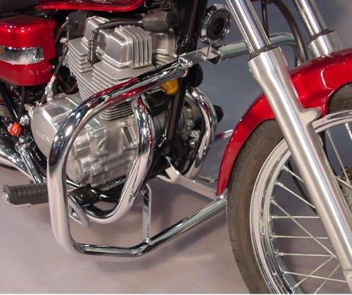 MC Enterprises Engine Guard Full Size 1-14 Inch Chrome for Honda VTX1300CRS