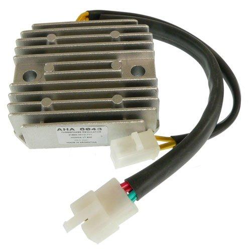 Db Electrical Aha6043 Voltage Regulator For Honda Shadow 600 Vt600C Motorcycle 1988-2007 1988-2007 Vt600Cd 1993-2003
