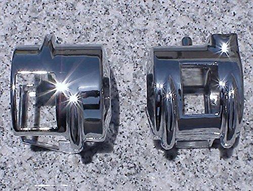 i5 Chrome Switch Housing Covers for Honda Shadow 600 VT 750 1300 VTX