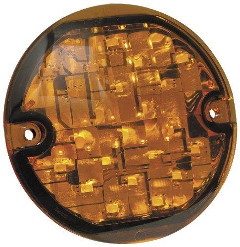 KURYAKYN LED FRONT TURN SIGNAL INSERTS AMBER FLAT 89-11 HARLEY FLSTC HERITAGE