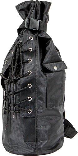 West-Eagle Motorcycle Products 6426-BK Sissy Bar Duffle Bag - Black