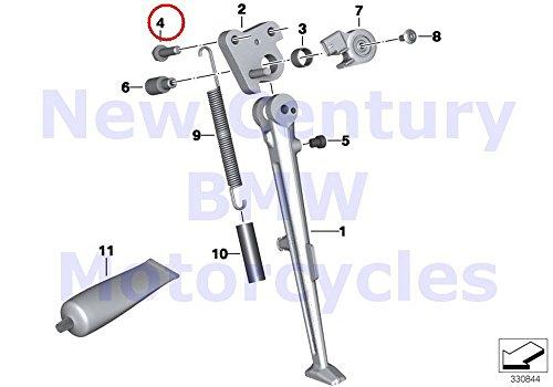 2 x BMW Genuine Motorcycle Side Stand Hex Bolt M8X30-U1-88-MK S1000RR S1000R