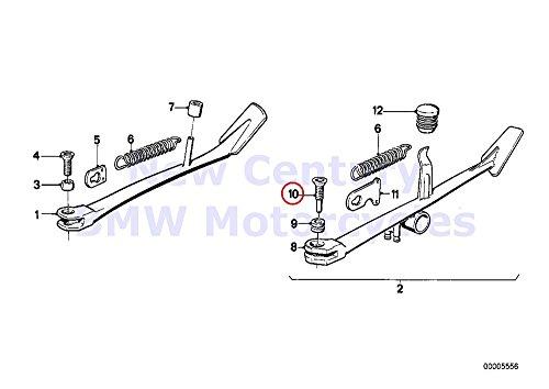 BMW Genuine Motorcycle Side Stand Bolt M8X35 R100T R100CS R100RS R100RT R607 R757 R80 R80RT R65 R65LS