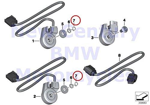 BMW Genuine Motorcycle Side Stand Lock Ring 6X07 R1100S R1200C R1200 Montauk R1200C Independent F650CS C600 Sport C650GT R nine T R1200GS Adventure HP2 Enduro HP2 Megamoto R1200RT R900RT R120