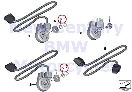 BMW Genuine Motorcycle Side Stand Switch Kickstand Retainer 6 SP 220 R nine T R1200GS R1200GS Adventure R1200RT R900RT R1200R R1200ST HP2 Sport R1200S K1200S K1300S HP4 K1200R K1200R Sport K1300R K12