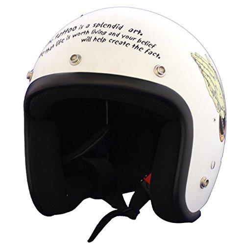 BLOODMESSAGE jet helmet MARIA flat vanilla L size BRH-01