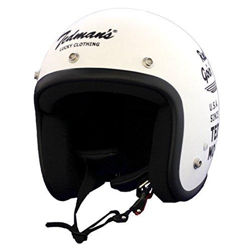 TEDMANS jet helmet BIKE flat vanilla L size TMH-09