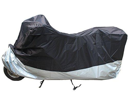 LotFancy Motorcycle Bike Polye All Weather Waterproof Motorcycle Bike Polyester Cover