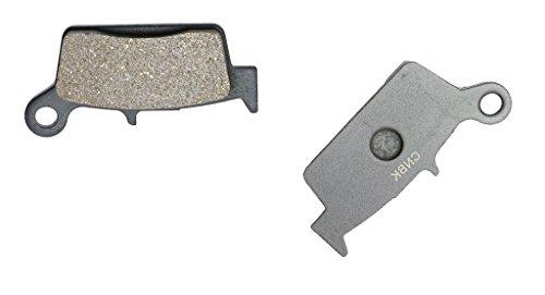 CNBK Rear Brake Shoe Pads Carbon fit for GAS GAS Dirt Bike 125 Pampera 05 06 07 08 2005 2006 2007 2008 1 Pair2 Pads