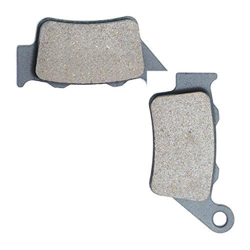 CNBK Rear Brake Shoe Pads Resin fit GAS GAS Dirt Bike EC300 EC 300 96 97 98 99 1996 1997 1998 1999 1 Pair2 Pads