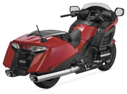 Vance And Hines Gl Monster Slip-ons Chrome 2012-2014 Honda Goldwing 1800 Mufflers  Slip-ons 19407