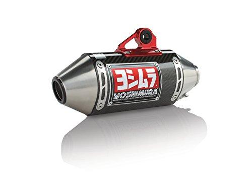 Yoshimura RS-2 Carbon Fiber Full Exhaust System Carbon End Cap for Honda Grom SF 12121AB250