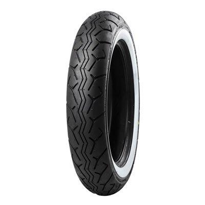 13090-16 67H Tube Type Bridgestone G703 Front Motorcycle Tire White Wall for Yamaha V-Star Classic XVS1100A 2000-2009