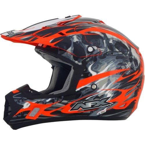 AFX FX-17 Inferno Helmet  Distinct Name Orange Gender MensUnisex Primary Color Orange Helmet Type Offroad Helmets Helmet Category Offroad Size XS 0110-3566