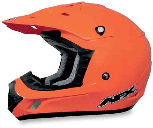 AFX FX-17 Solid Helmet  Size Lg Distinct Name Safety Orange Helmet Type Offroad Helmets Helmet Category Offroad Primary Color Orange Gender MensUnisex 0110-3052