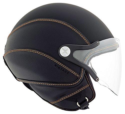 Nexx SX60 Vintage 2 Black Orange Helmet size 2X-Large