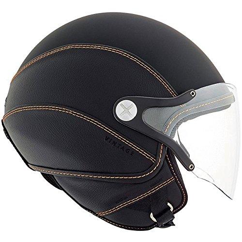 Nexx SX60 Vintage 2 Helmet - Black  Orange - XL