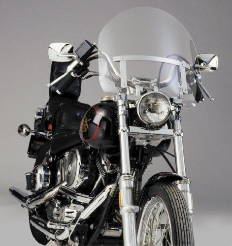 National Cycle Dakota 30 Windshield - Short For Harley Davidson FXDS-Conv 1994-2004  FXR 1982-1983 1986-1994  FXRS 1982-1992  XL1200C 1996-2010  XL1200L 2006-2011  XL1200N 2007-2011  XL1200RXL883 2004-2008  XL1200S 1996-2003  XL883C 1999-