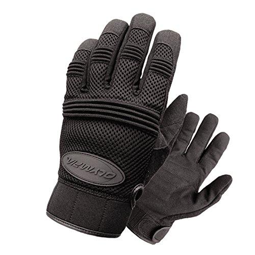 Olympia 760 Air Force Gel Motorcycle Sport Gloves Black Large