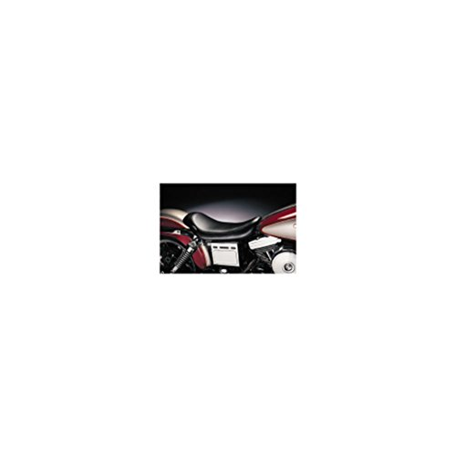 Le Pera Silhouette Solo Vinyl Seat for 1991-2010 Harley Davidson Touring Models - HD FLHRI Road King 1994-1996