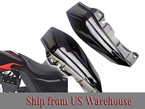 Mid-Frame Air Deflector Trim for 2009-2017 Harley Street Glide Tri Electra Road 2010 2011 2012 2013 2014 2015 2016