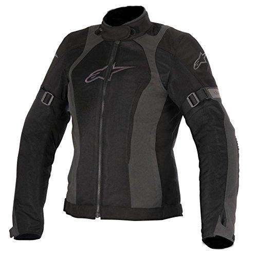 Alpinestars Stella Amok Air Drystar Womens Motorcycle Jackets - BlackGray - 2X-Large