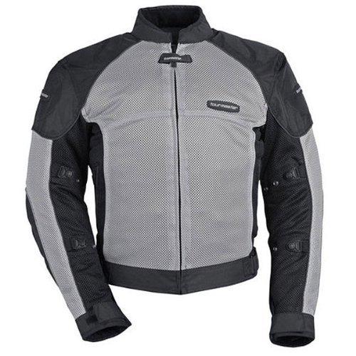 Tourmaster Intake Air Series 3 Womenss Motorcycle Jacket Silver