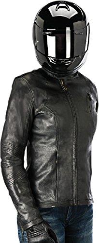 Alpinestars Shelly Womens Leather Riding Jacket Black Small