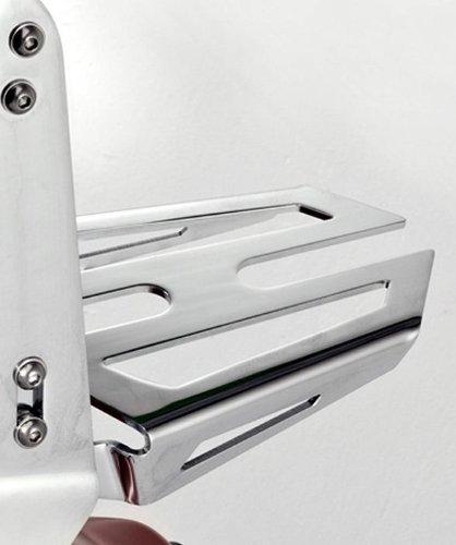 YAMAHA STRYKER 1300 RAIDER SCL CHROME REAR CARRIER LUGGAGE RACK FOR SHORT BACKREST