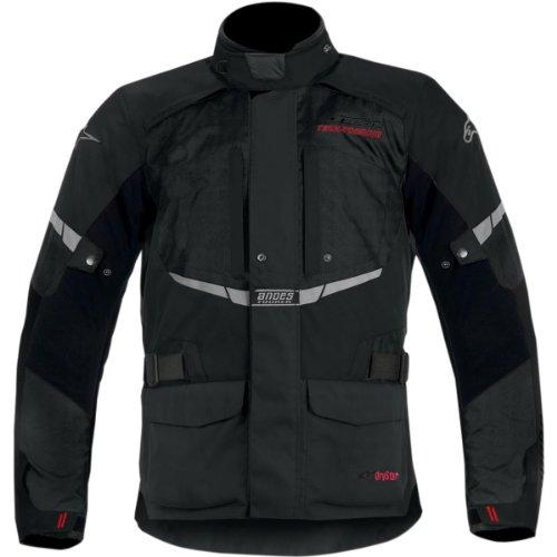 Alpinestars Andes Drystar Mens Street Motorcycle Jackets - Black  X-Large