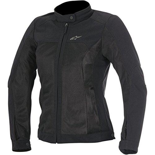 Alpinestars Eloise Air Womens Street Motorcycle Jackets - Black  Small