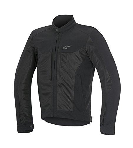 Alpinestars Luc Air Mens Street Motorcycle Jackets - Black  X-Large