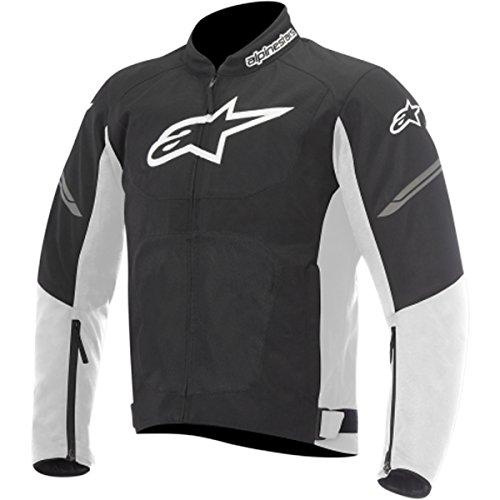Alpinestars Viper Air Mens Street Motorcycle Jackets - BlackWhite  Large
