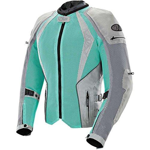 Joe Rocket Cleo Elite Womens Mesh Street Motorcycle Jacket - Mint  Medium
