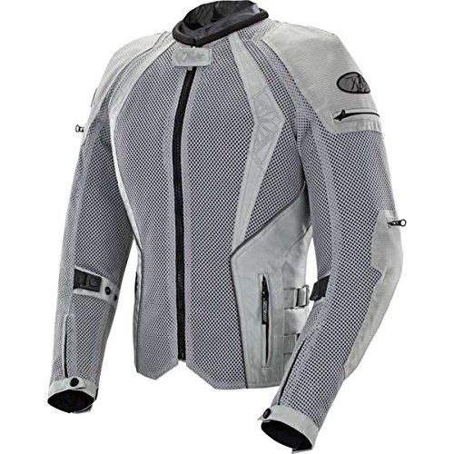 Joe Rocket Cleo Elite Womens Mesh Street Motorcycle Jacket - Silver  Small