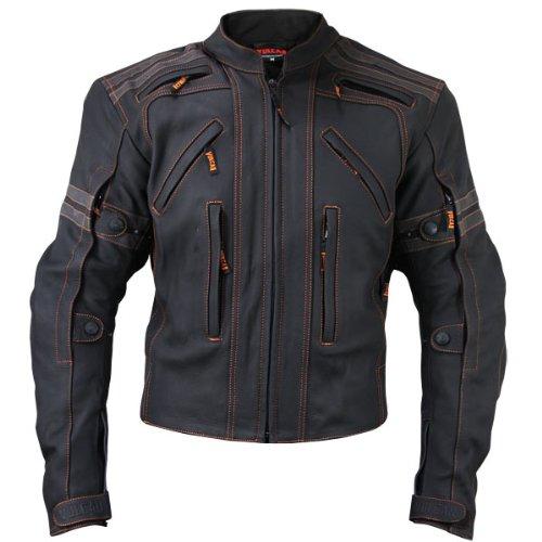 Vulcan Mens VTZ-910 Street Motorcycle Jacket - 3X-Large
