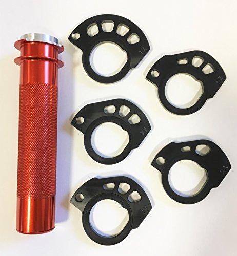 G2 Ergonomics - PRO VERSION Throttle Cam System NEW KTM ORANGE TUBE G2-25-315-o