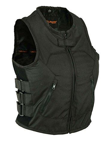 DS212BK Womens Updated Textile SWAT Team Style Vest 5XL BLACK