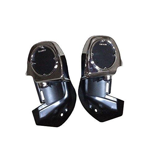 BBUT Lower Vented Leg Fairing w 65 Speaker Pods Box For Harley Touring Glide 1983-2013