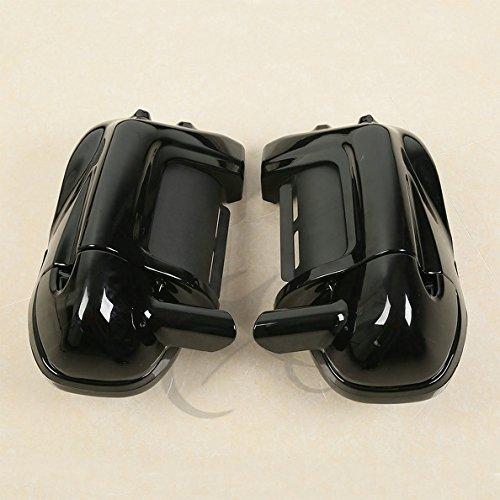 TCMT Lower Vented Leg Fairings  65 Speaker Box Pods For Harley Road Street Glide
