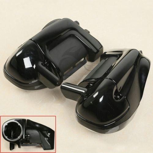 TCMT Lower Vented Leg Fairings W Speaker Box Pods For Harley Road King Electra Glide